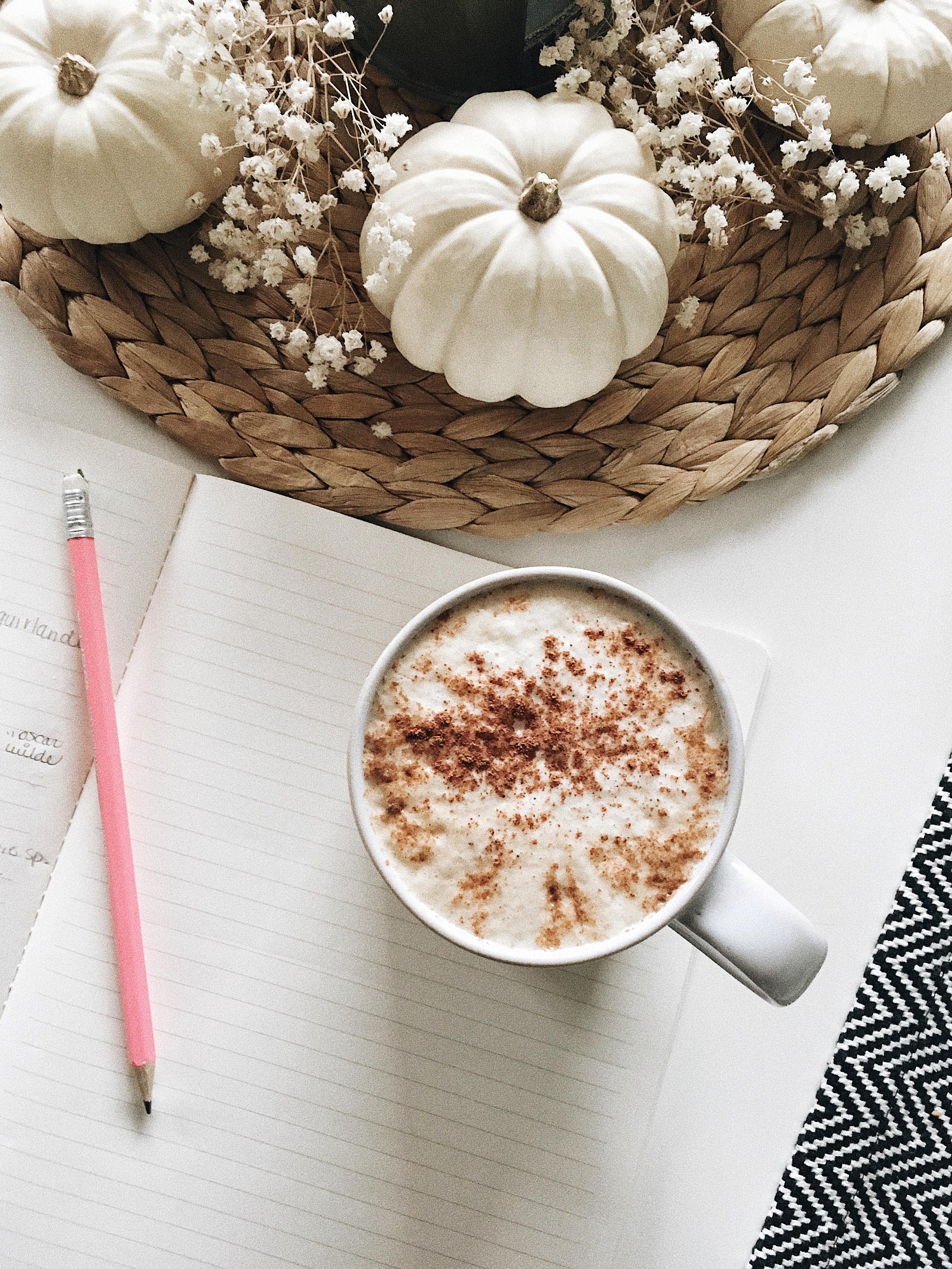 Café aux épices d'automne