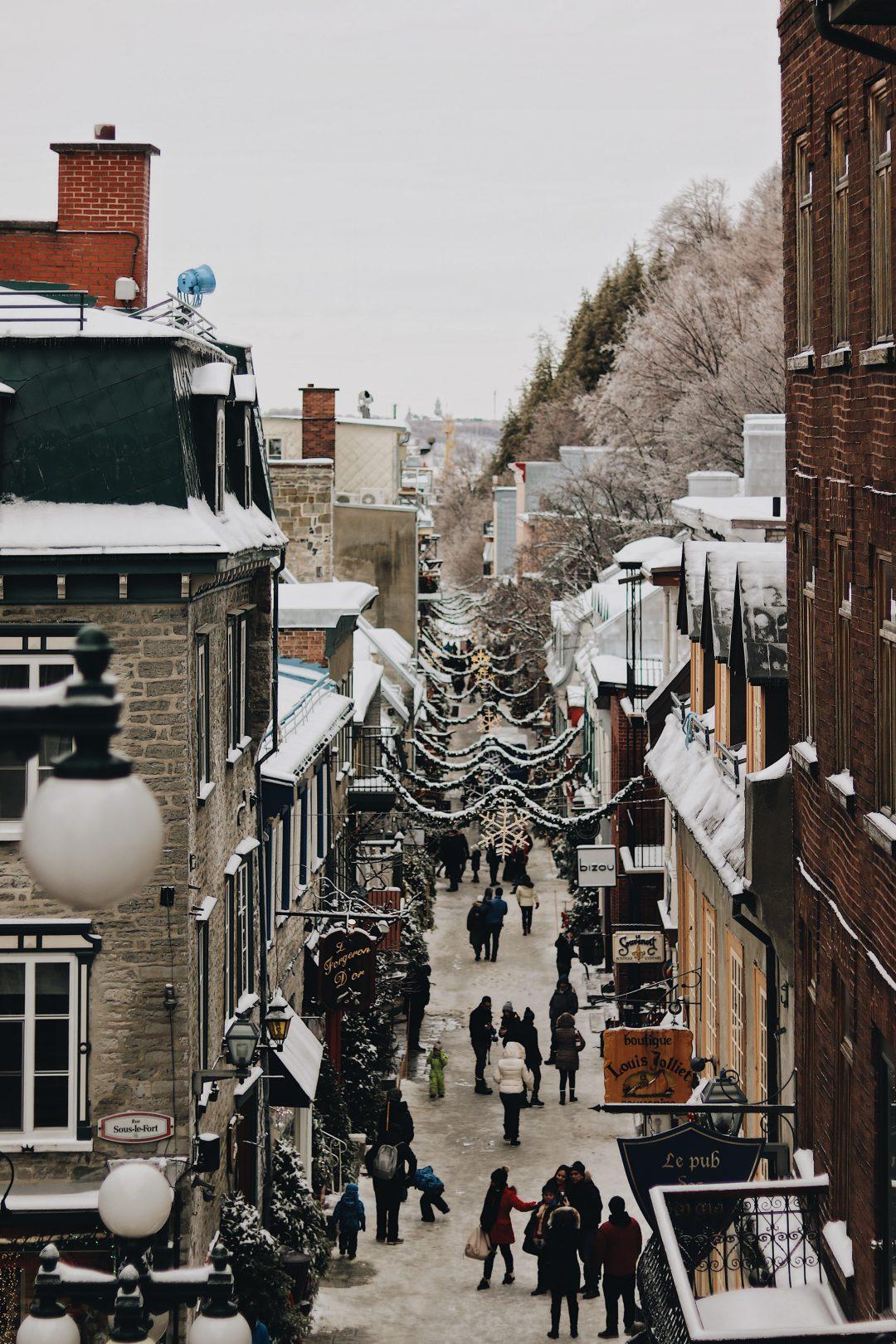 Québec - Quartier Petit Champlain