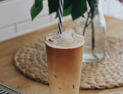 Café glacé décaféiné maison