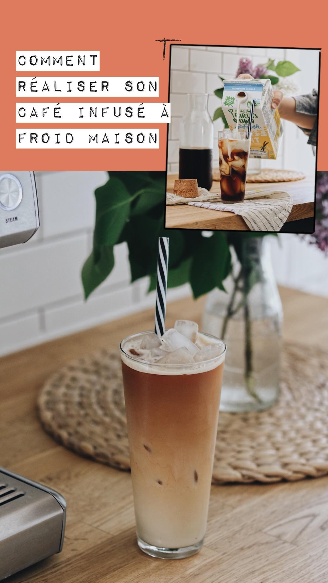 Comment réaliser son café infusé à froid maison