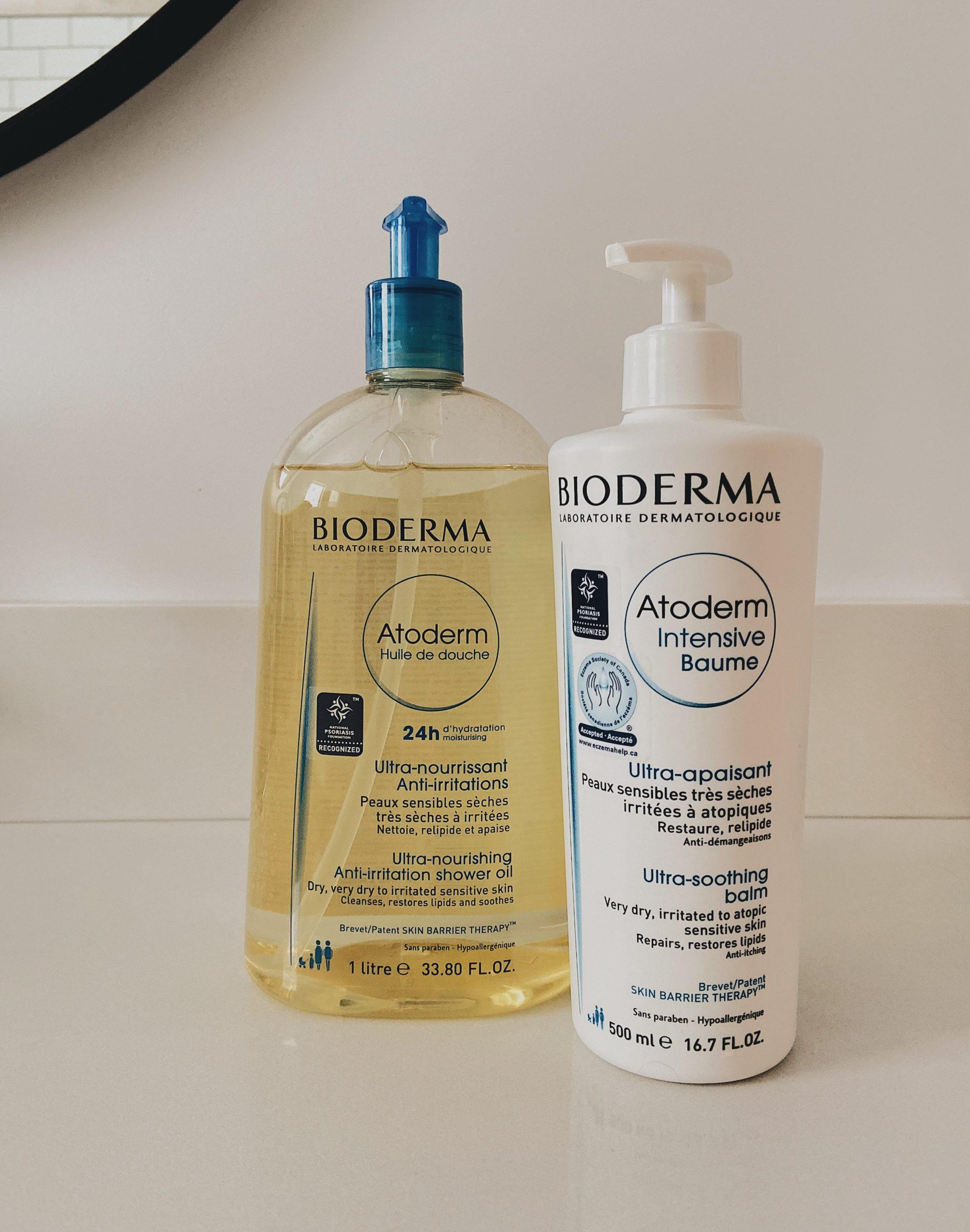 Savon et crème Bioderma