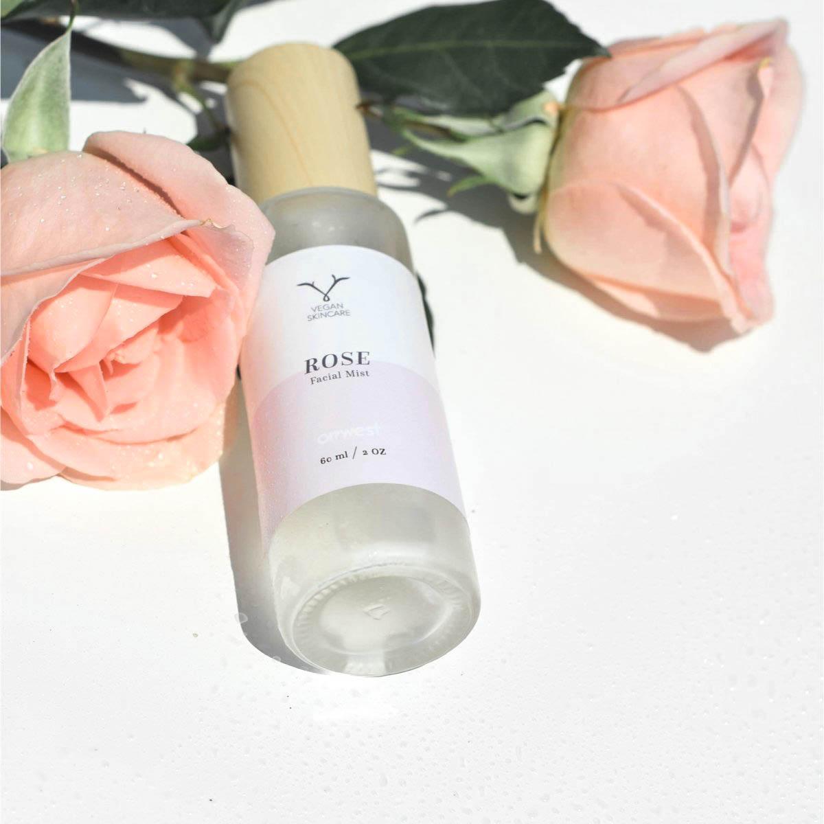 Brume faciale eau de rose