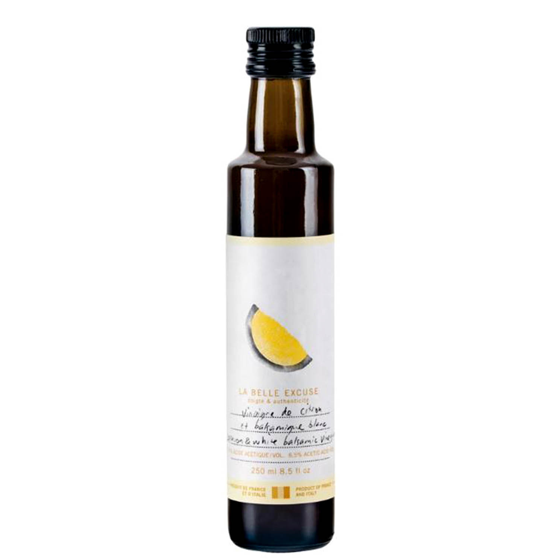 Vinaigrette de balsamique blanc et citron - Idée cadeau Fête des Mères
