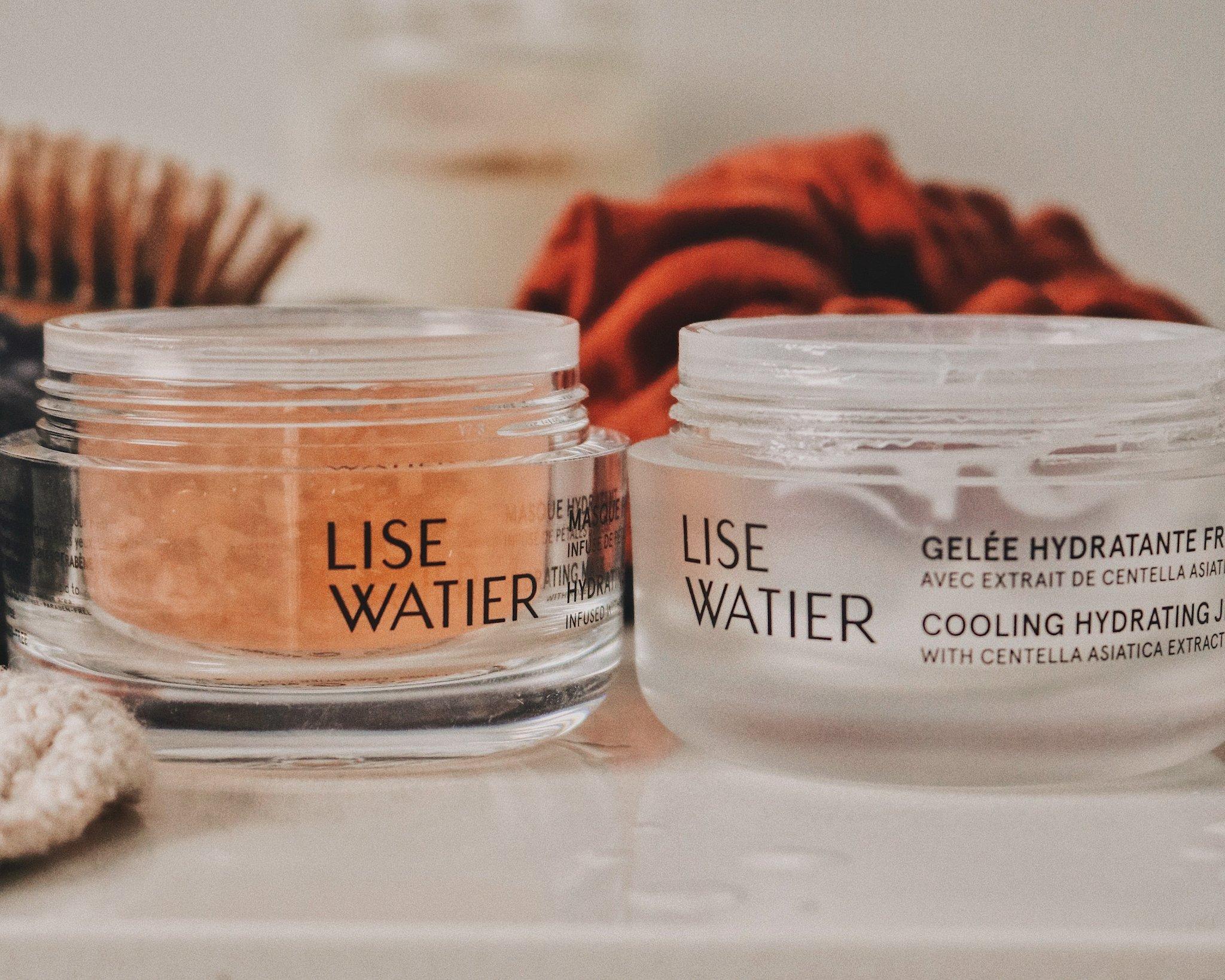 Gelée et masque hydratant Lise Watier