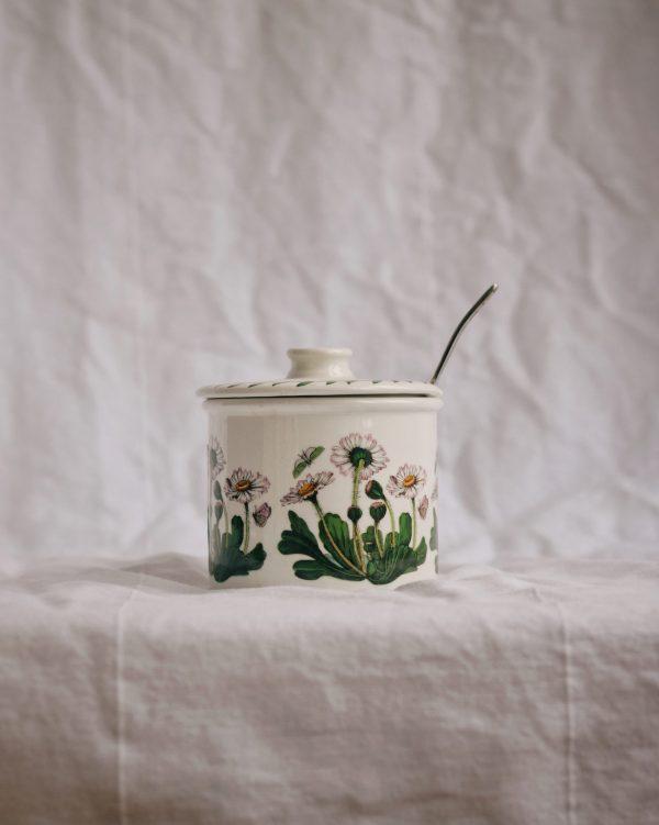 Sucrier fleuri