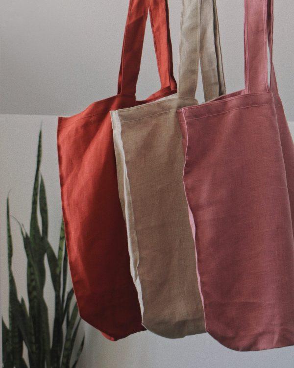 Sacs de lin - Dans le sac