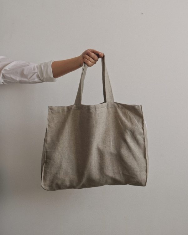 Sac de lin - Dans le sac