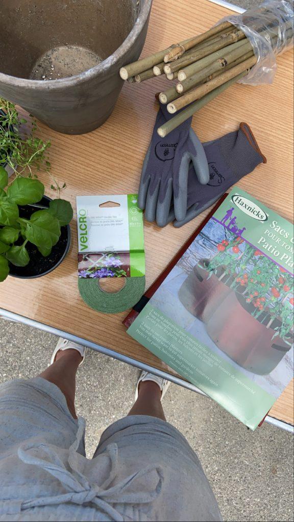 Essentiels de jardinage en pots